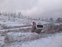 商洛男子冒雪为儿子送衣 下雪路滑车辆坠江身亡