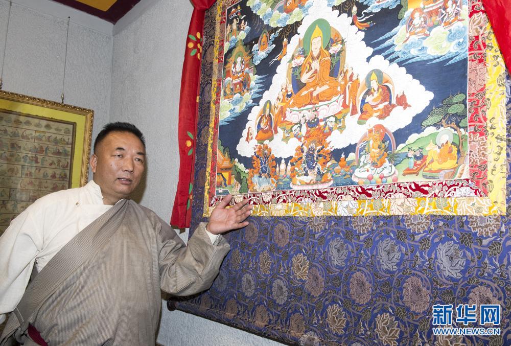 """【高原拾""""遗""""之传承人风采】西藏工艺美术大师龙桑"""