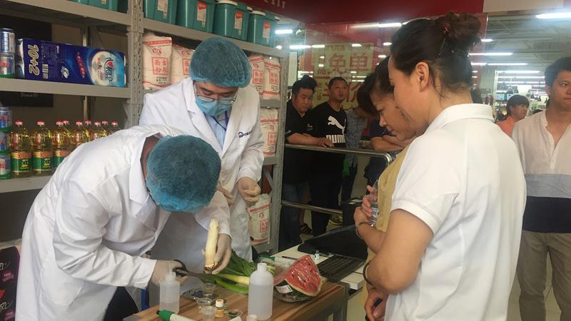 """""""你点我检""""进超市 沈阳市铁西区保障国家食品安全"""