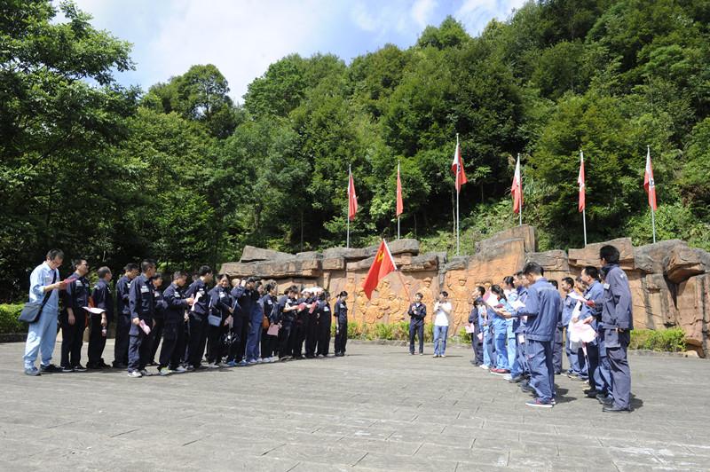 贺州供电局开展主题党日活动 喜迎建党95周年