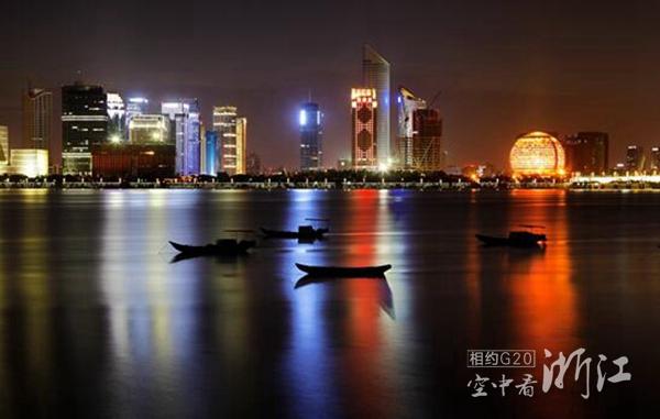 钱江新城夜景