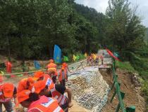安徽省公路部门积极开展灾后恢复重建工作