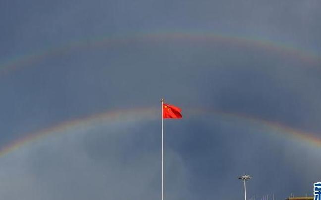【视·觉】雨后彩虹