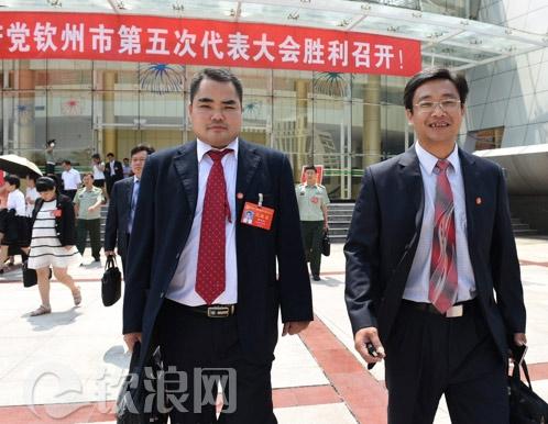 钦州:党代表满怀信心踏上新征程