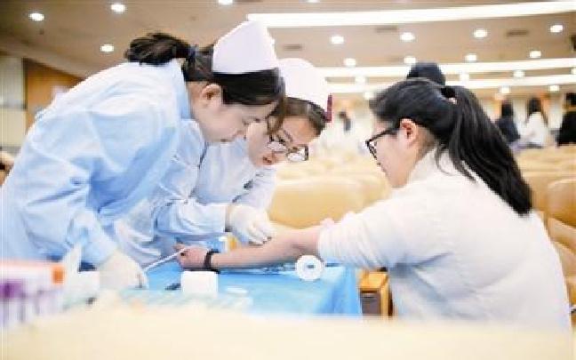 """无偿献血纪念""""一二·九"""" 各高校开展纪念活动"""