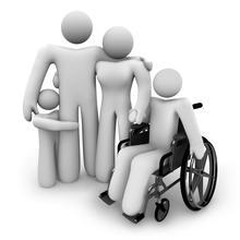 """郑州市二七区发放残疾人""""两项补贴"""""""