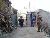 台州边防支队鸡山所开展执勤活动助力辖区景区建设