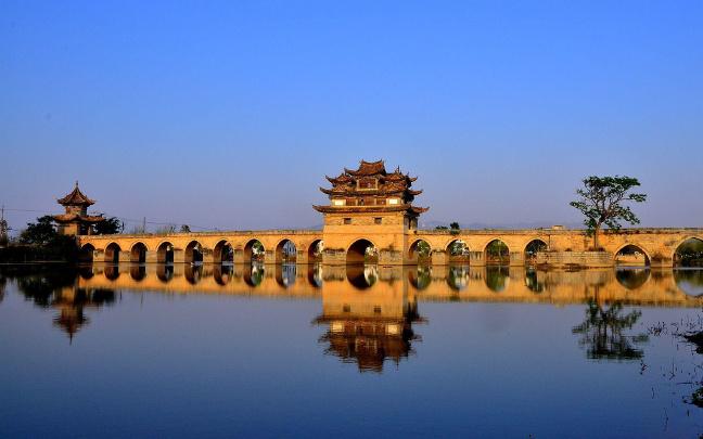 春节期间云南建水各旅游景区活动丰富多彩