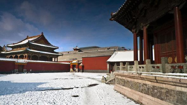 沈阳故宫:寒冬里的热旅游
