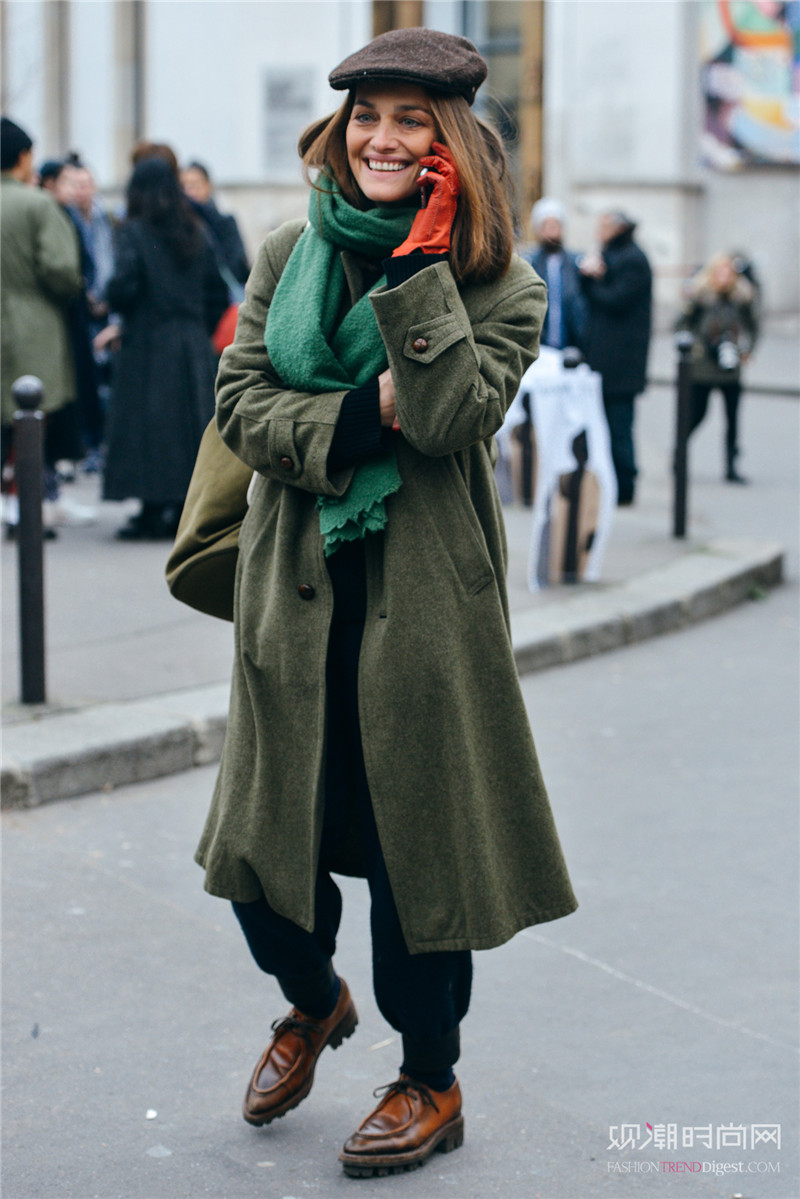 围巾搭配N种范例,高颜值穿衣少不了它