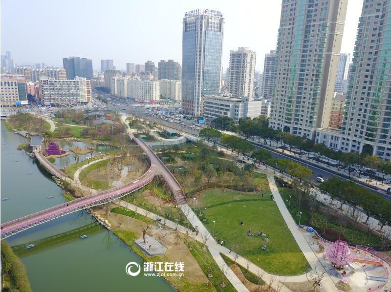 宁波樱花公园重建工程即将完成