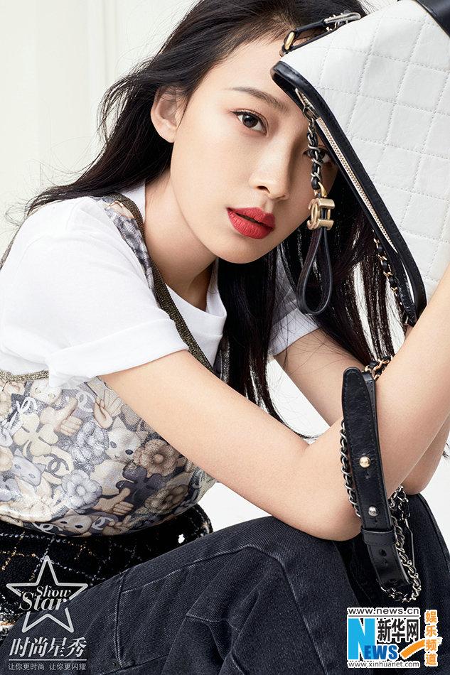 孙怡时尚大片曝光 眼眸清澈率性优雅