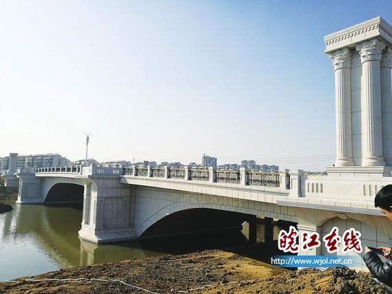 慈湖河上再添景观桥