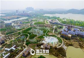 吴兴:浪漫丝艺园预计月底开放