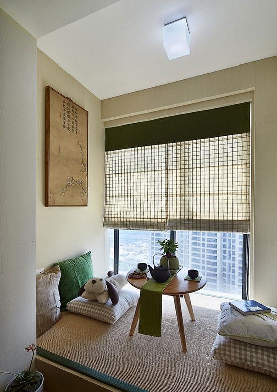 日式美式混搭风格 文艺夫妻的简约清新婚房
