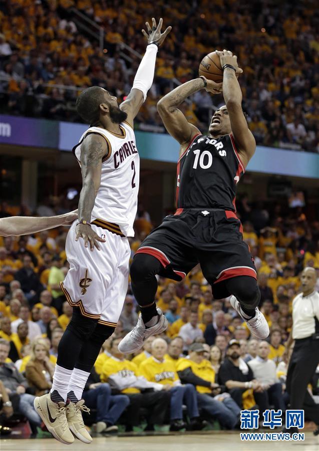 NBA季后赛:骑士胜猛龙