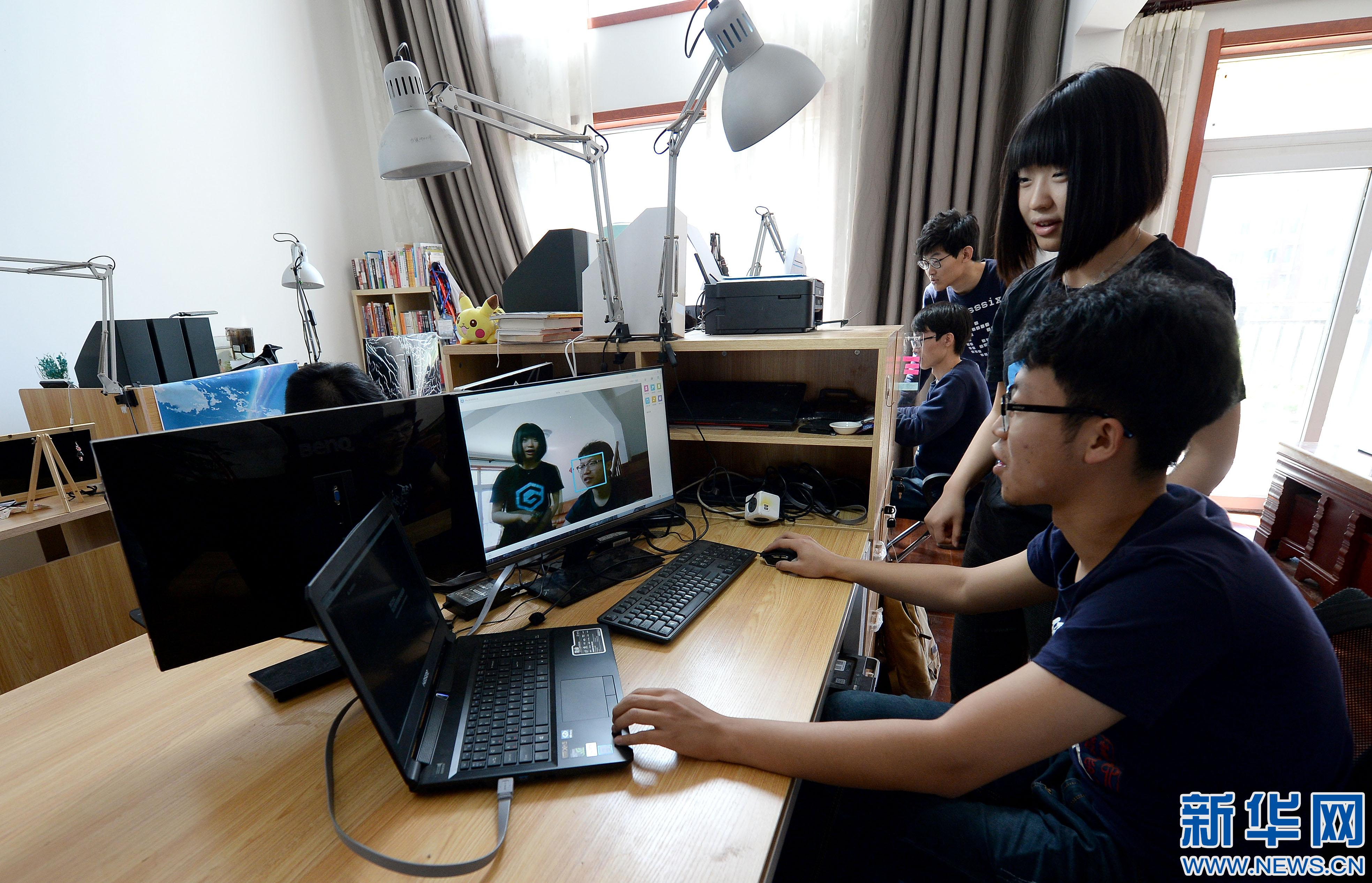 """陕西大学生科技创业公司""""第六镜""""的人工智能梦"""