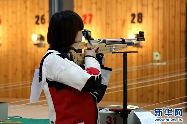 西北协作区射击比赛在青海多巴鸣枪