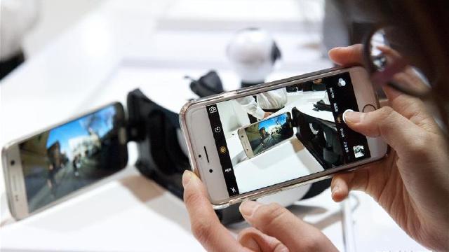世界移動通信大會:三星發布新款手機