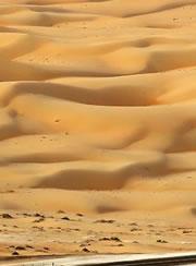 大漠连天沙如雪——阿联酋利瓦沙漠