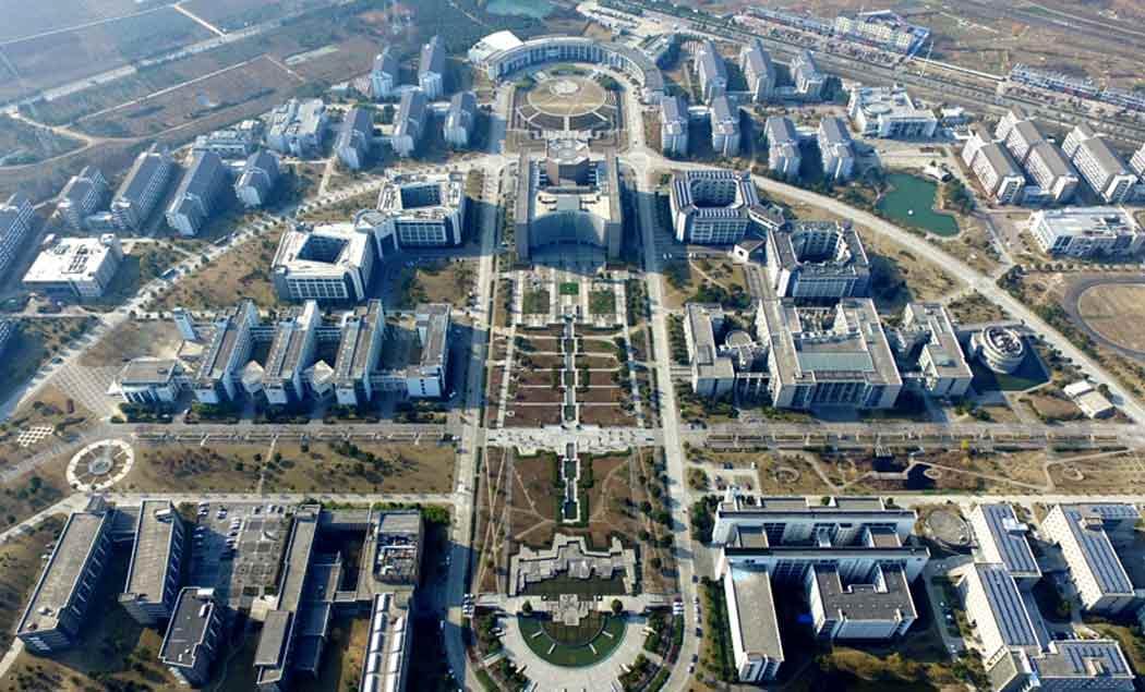 安徽大学新区全景
