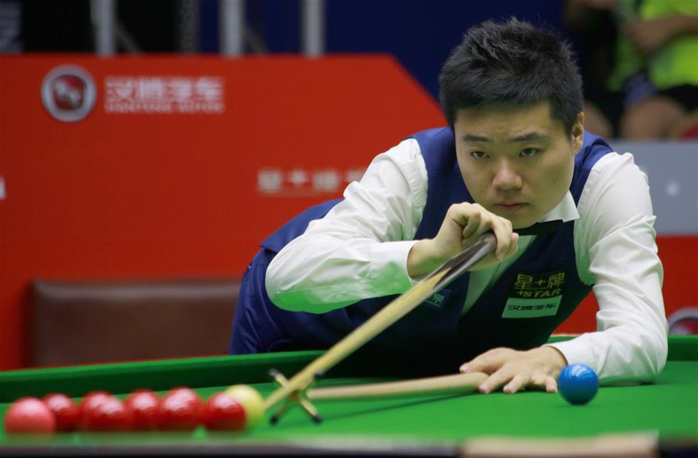 2016斯诺克世界公开赛:丁俊晖晋级