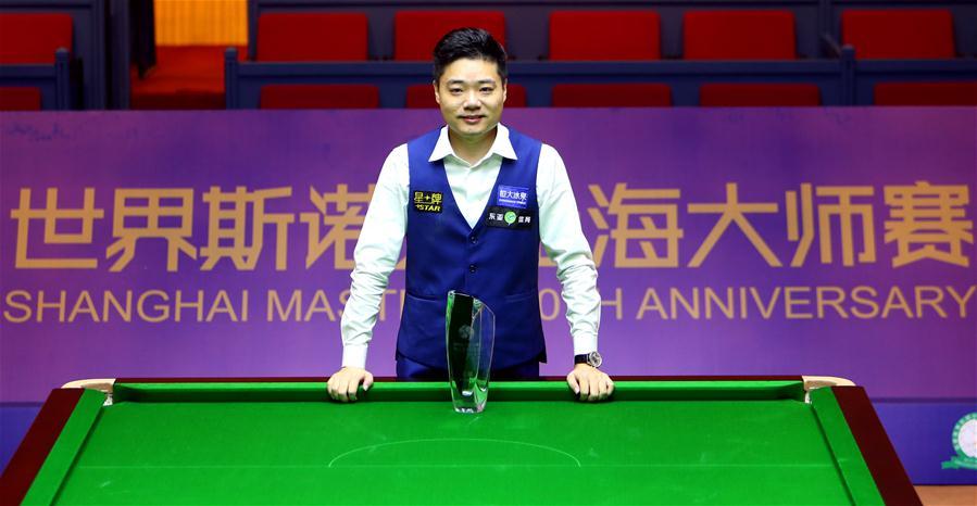 丁俊晖战胜塞尔比 两度登顶上海大师赛创历史