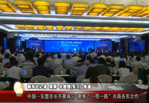 """中国—东盟市长齐聚南宁 聚焦""""一带一路""""共商务实合作"""