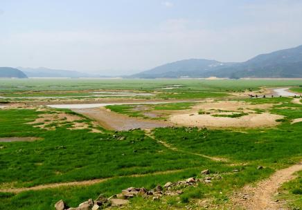 """我国最大淡水湖鄱阳湖提前""""喊渴"""""""