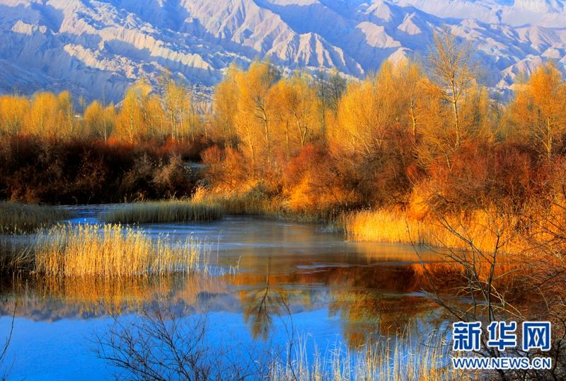 青海贵德千姿湖 四季风景美如画