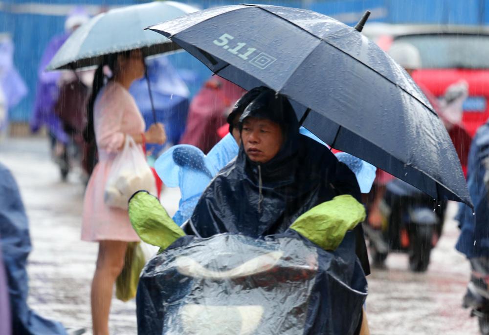 广西发布暴雨黄色预警