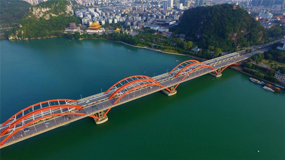 广西柳州建成社会主义核心价值观柳江文化带