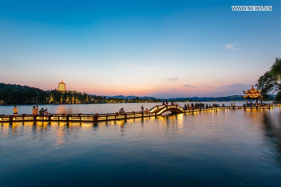 "G20相约西湖之畔 杭州打造""中国会客厅"""