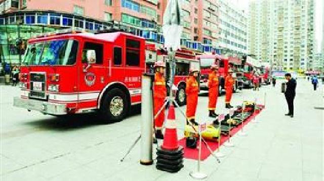 丹東:消防宣傳進社區