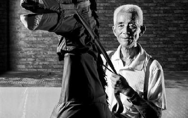 东穆坞里有个83岁的巧手师傅,神了