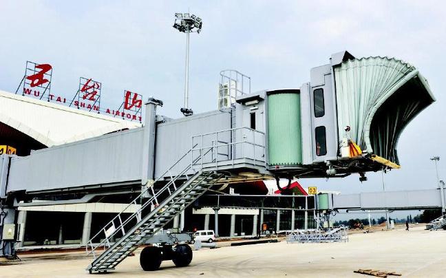 五台山机场旅客吞吐量首破10万人次