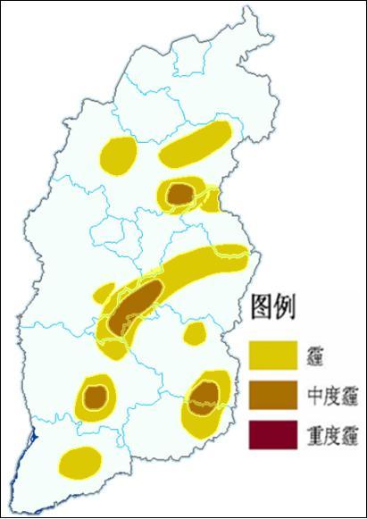 山西这六市部分地区将出现中度霾!出门仍需注意