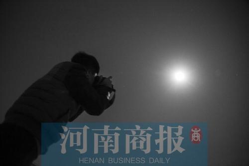 郑州昨晚可赏月明月 可惜良级好天气昙花一现