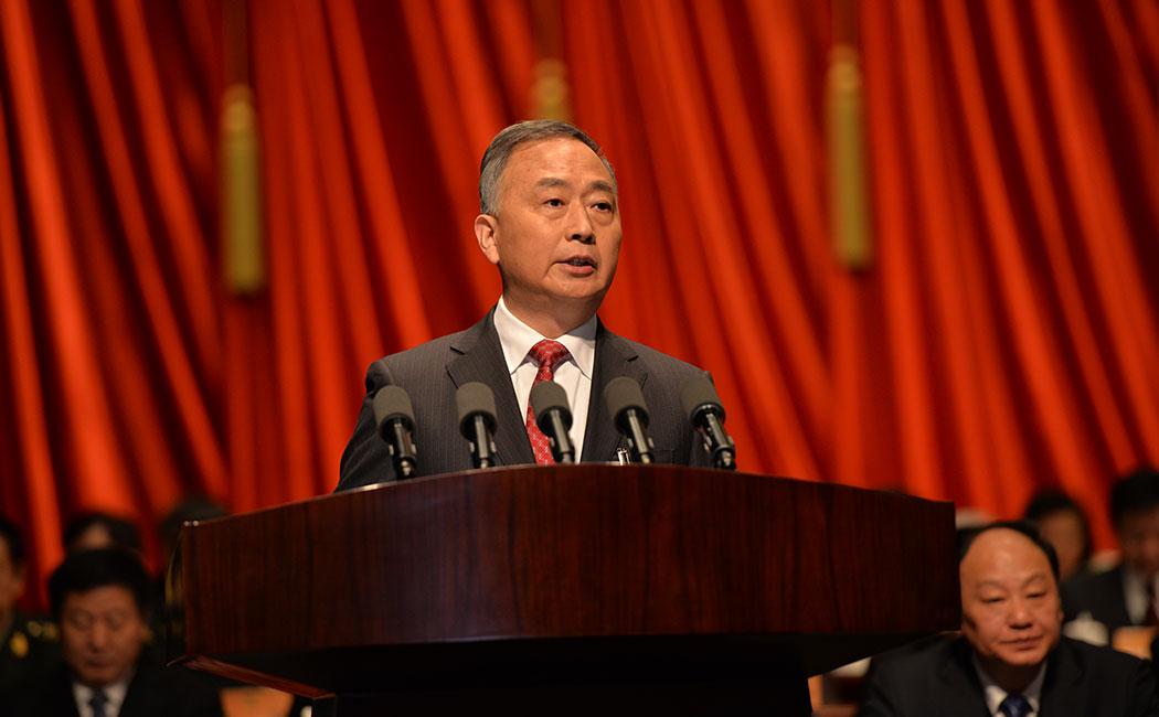 徐立全作安徽省政协常务委员会工作报告