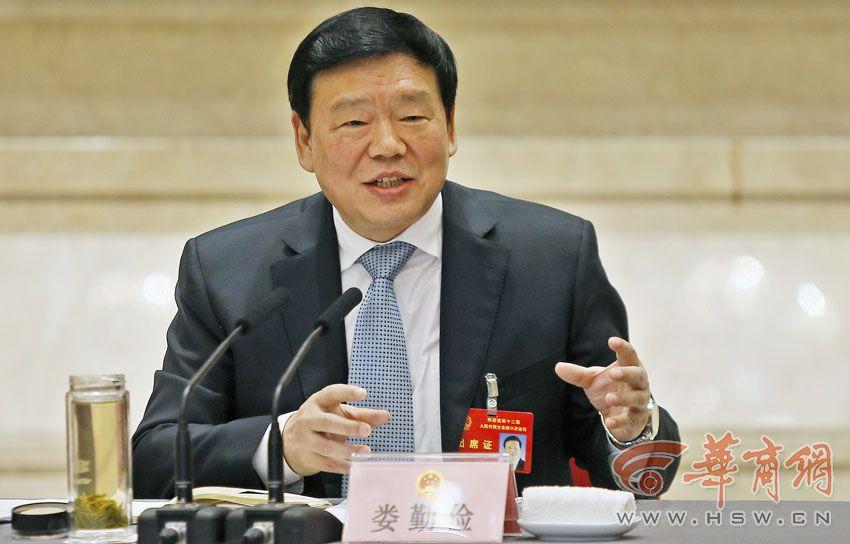 娄勤俭参加西安代表团审议:我们绝不要污染的GDP