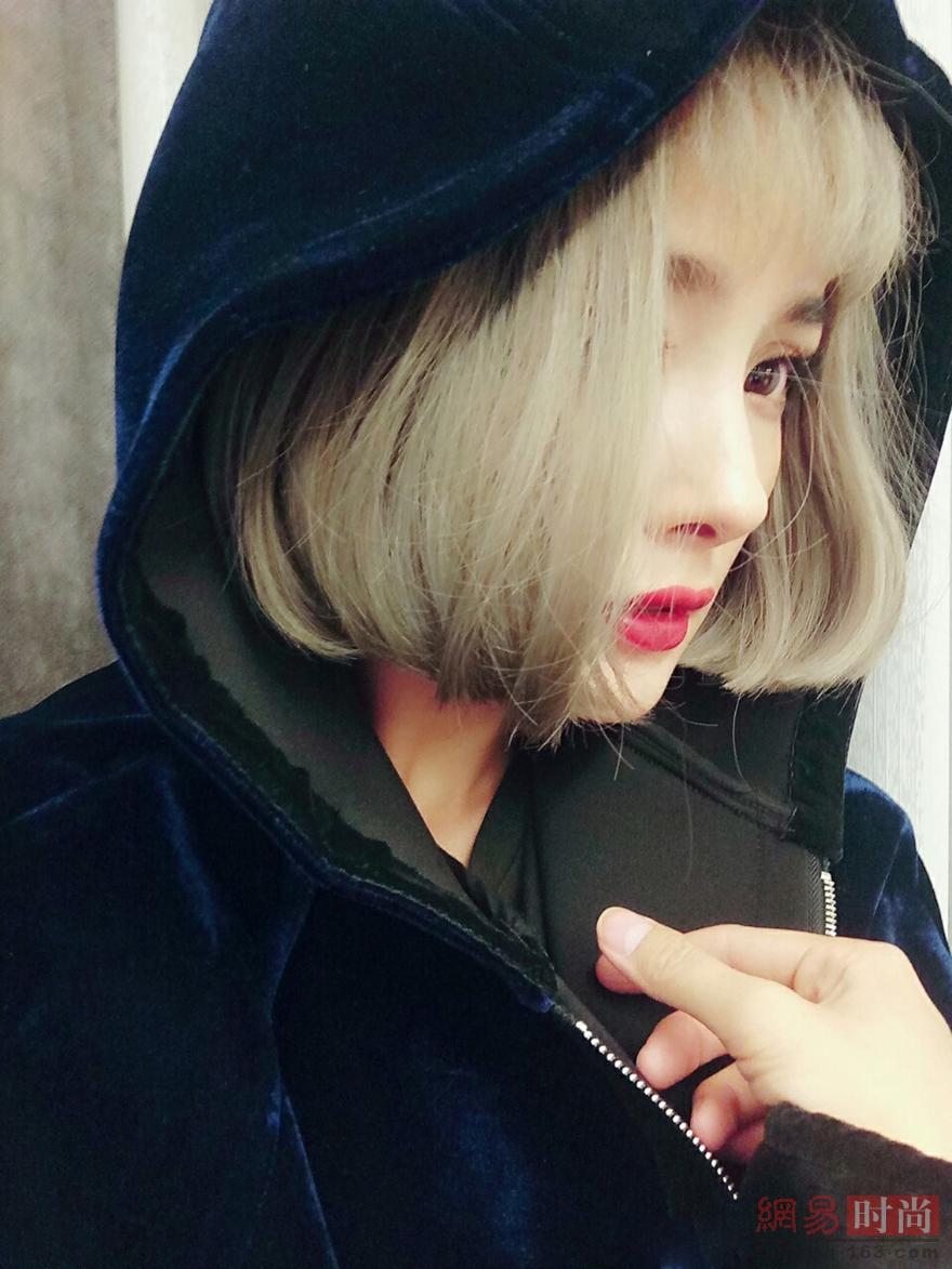 时尚女短发盖盖头 女生各种锅盖头发型图片[19p](4) - 发型图片图片
