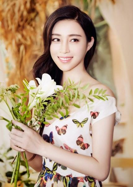 甘婷婷曝花仙子写真清纯魅力性感鞠的性感祎照片婧撩人图片