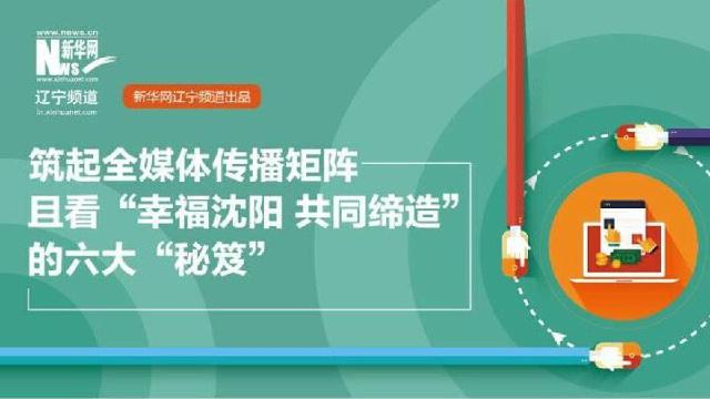 """一图读懂丨""""幸福沈阳 共同缔造""""全媒体传播矩阵的六大""""秘籍"""""""
