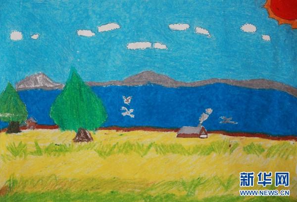 看了这些小朋友的画,我又想去青海湖了…还等什么快上车!