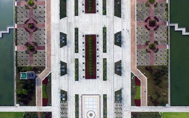 【航拍】河南许昌:城市中轴线的美景