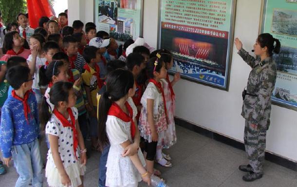 滁州市东风小学被教育部认定为国防教育特色学校