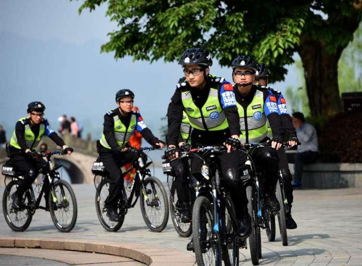 西湖景区有了首支旅游警察大队