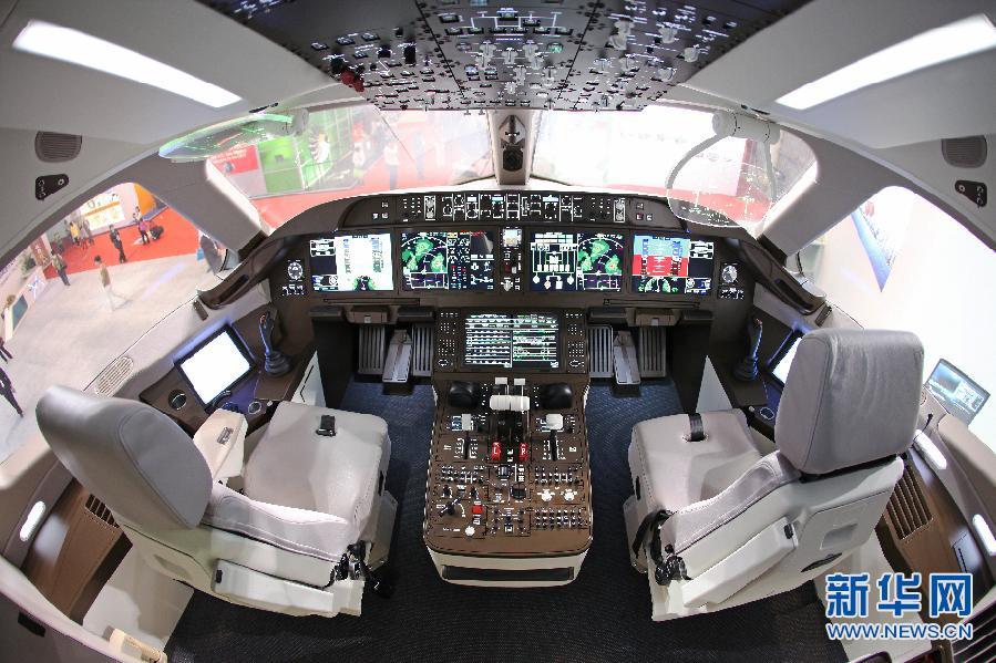"C919计划5日首飞 内舱照片抢""鲜""看"