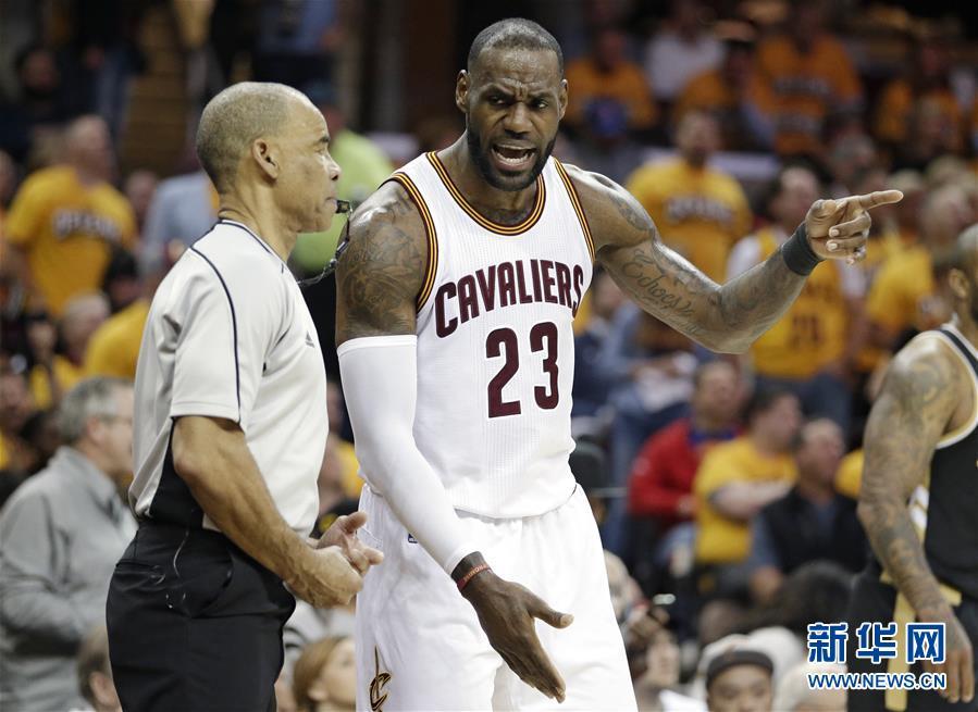 NBA季后赛:骑士再下一城