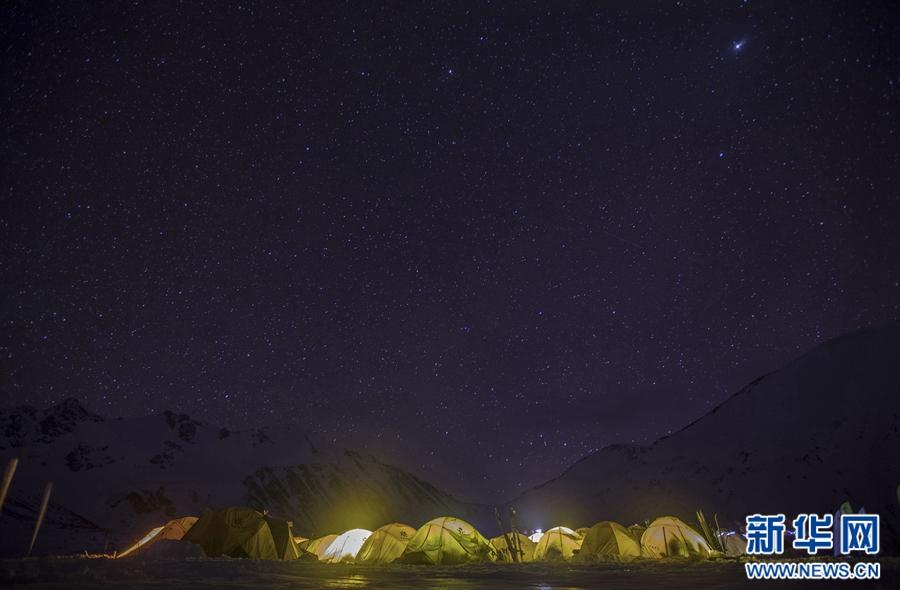 青海岗什卡—静静的夜